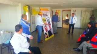 Como votar el 25 de Octubre de 2015 por Herman Redondo concejal