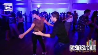 Nicolas & Hélène - 2nd social dancing @ LeSalsa'Club Party