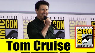 TOM CRUISE Surprises Fans at Comic Con for TOP GUN: MAVERICK   2019 Comic Con