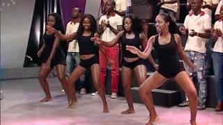 As Bombásticas dançando, Fuba das Gingas | Zimbando | Tv Zimbo