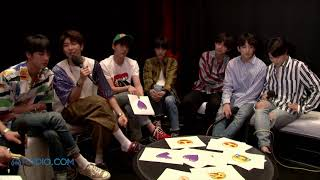 (BTS EXCLUSIVE) BTS Fan Learns Korean to Ask BTS a Question in #RadioAMAWithBTS