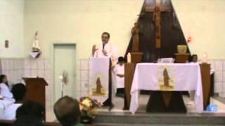 Festa de São Francisco e Santa Clara 2012 - Missa em louvor aos padroeiros