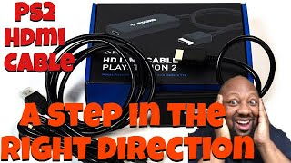 Pound HDMI cable for PLAYSTATION 2 review (does more than expect!)