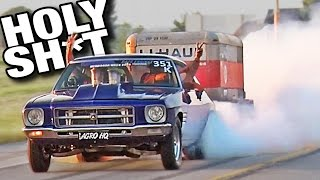 BURNOUTS with TRAILERS ATTACHED!?