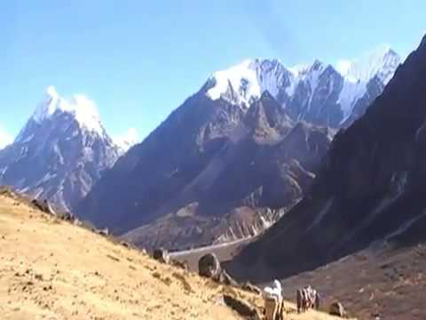 Langsisa -Ri Climbing, LANGSISA RI video (6427m) Expedition in Nepal