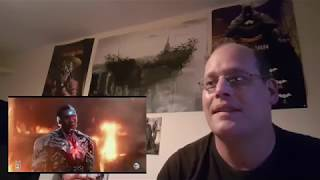 JUSTICE LEAGUE Cyborg Trailer Reaction