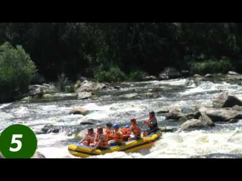 Rafting in Ukraine