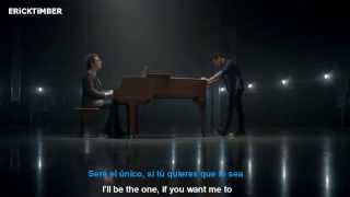 A Great Big World - Say Something (Ft. Christina Aguilera) (En español - Lyrics in English)