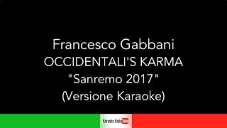 Francesco Gabbani - Occidentali's Karma - Sanremo 2017 (Base Musicale Karaoke Cover)