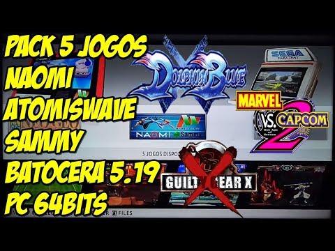 Download thumbnail for 5 roms Sega Naomi,Atomiswave e Sammy