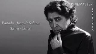 Posdata - Joaquín Sabina (Letra-Lyrics)