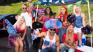 Go inside WWE's ultimate tailgate party