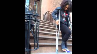 A Girl and Her Crutch #2