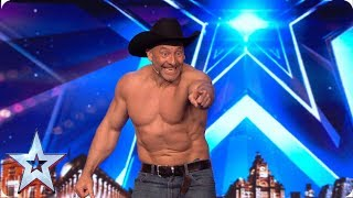 Matt Stirling stuns the Judges with incredible movie magic   Auditions   BGT 2019