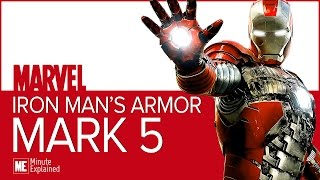 Iron Man's MARK 5 ARMOR Explained | The best carry on luggage, ever! (MCU)