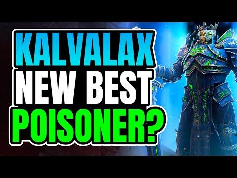 Kalvalax looks INCREDIBLE I Raid Shadow Legends