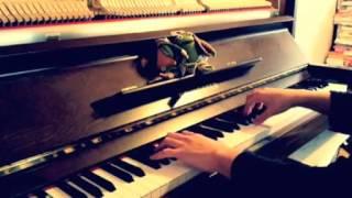 "Nise Monogatari (偽物語) OP ""Platinum Disco (白金ディスコ)"" piano cover"