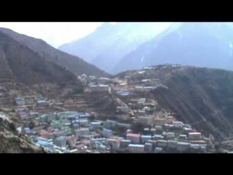 Trekking in the Himalayas part 5; Namche Bazar to Thame