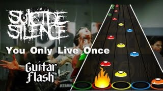 Guitar Flash Custom - Suicide Silence - You Only Live Once