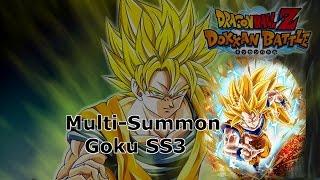 20 Dragon Stones Multi-Summon SSR Goku SS3 - Dokkan Battle