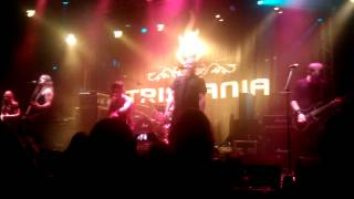 Tristania - Cathedral (new song) live in Zoetermeer, Netherlands 16-09-2012