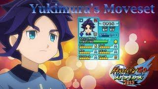 Yukimura's Moveset In Inazuma Eleven Go Strikers 2013