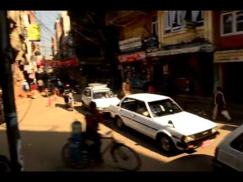 Thamel Traffic – Kathmandu, Nepal