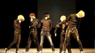 "ErolutioN cover SS501-Love ya on festival ""FAP FAP 2012"""