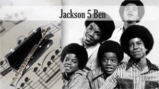 Partitura Jackson 5 Ben Flauta Traversa