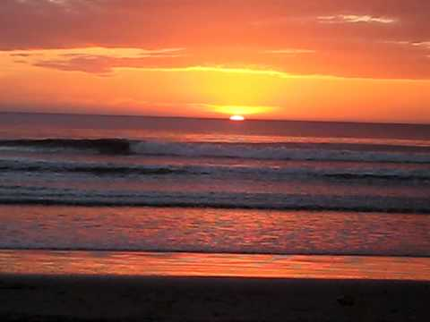 Sunset at Gran Pacifica, Nicaragua