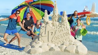 Beach Stereotypes | Dude Perfect width=