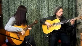 Caravan cover, guitar duo