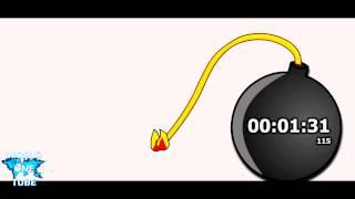 3 minutes Countdown Timer Alarm Clock