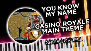 Casino Royale Main Theme (You Know My Name) - Piano Tutorial