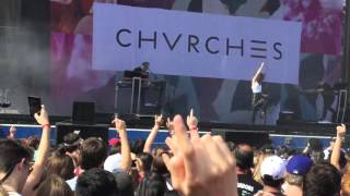 Chvrches - Clearest Blue Edgefest 2016