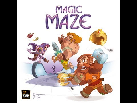 Reseña Magic Maze