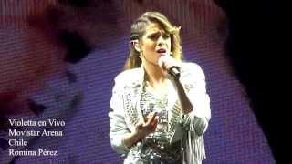 Como Quieres - Violetta en Vivo Chile 2013