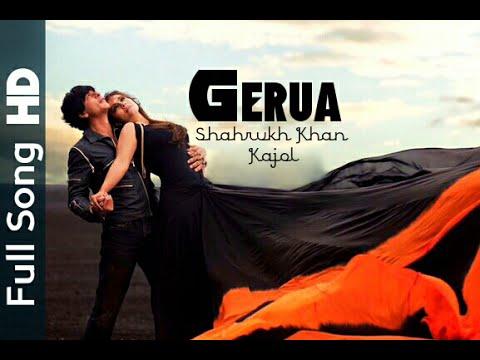 Gerua Official Video Song Dilwale Shahrukh Khan Kajol Hd