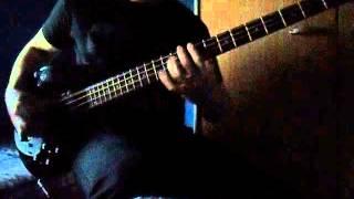 Static- X black and white bass cover