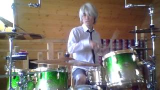 Red Hot Chili Peppers-Right On Time-Drum Cover