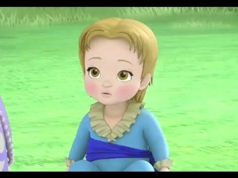 Sofia The First - 2 Princesses & A Baby - Cedric turns James Into A ...