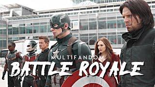 Multifandom || BATTLE ROYALE