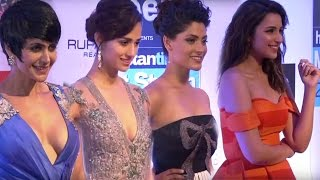 Bollywood Actress Exposed In Hot Dress At Red Carpet | HT Most Stylish Awards 2017 width=