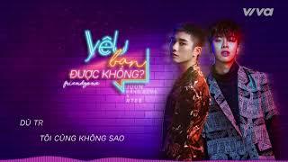 Yêu Bạn Được Không (Friendzone) - Juun Đăng Dũng ft RTee | Audio Lyric | Sing My Song 2018