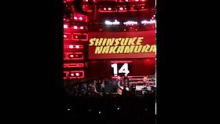 Shinsuke Nakamura Entrance 2018 Royal Rumble