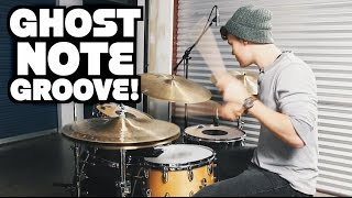 Ghost Note Groove - Drum Lesson