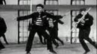 Elvis Presley - Jailhouse Rock (Music Video)