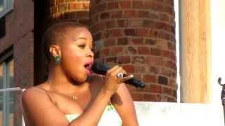 Chrisette Michele, Aston Martin Music (Remix), Rockefeller Park, NYC 6-29-11