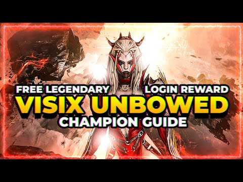 RAID Shadow Legends | Visix Unbowed Guide! | Day 270 FREE Reward! Worth Building or Not?