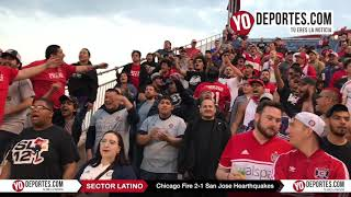 Sector Latino Chicago Fire 2 -1 San Jose Hearthquakes
